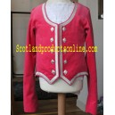 Pink Highland Dancing Vest With Sleeve
