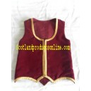 Simple Highland Dancing Vest With Gold Braid