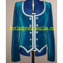 Highland Dancing Vest With Silver Braid
