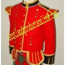 Red Pipe Band Doublet Tunic