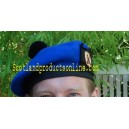 Royal Blue Balmoral Hat