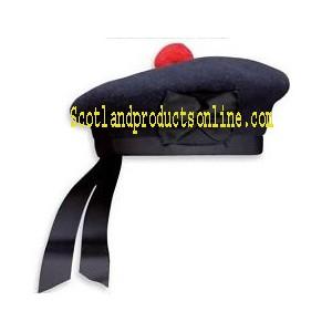 Dark Navy Balmoral Hat