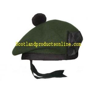 Green Balmoral Hat