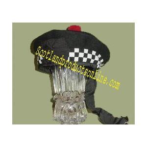 Black Balmoral Hats