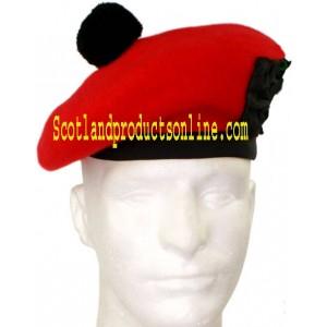 Red Balmoral Hat