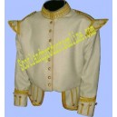 Off-White Doublet Jacket With Gold Braid