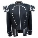 Gray Military Doublet Jacket