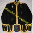 Pipe Band Doublet Jacket In Search Wool