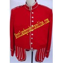 Pipe Band Doublet Jacket In Blazer Wool