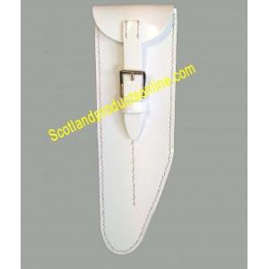 White PVC Flute Pouch