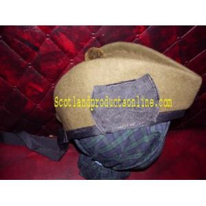 WW1 Canadian Khaki Glengarry Hat