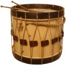 "Renaissance Drum  18"" X 13""  with beaters"