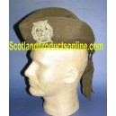 WWI Canadian Khaki Drab Glengarry Hat