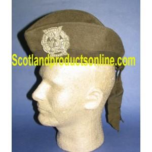 WWI Canadian Khaki Drab Glengarry Hat