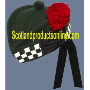 Special Forces Dark Green Glengarry Hat