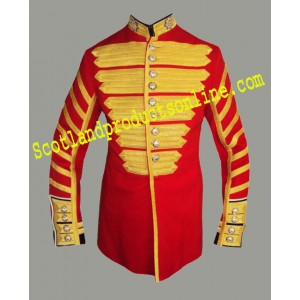 COLDSTREAM GUARDS DRUM MAJOR TUNIC - GRADE 1 RARE