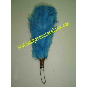 Sky Blue 3 Inch Feather Hackle
