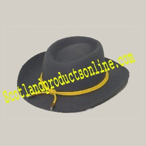 Western Civil War Officer Hat New