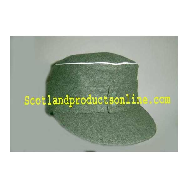 Ww2 German Police M43 Hat Badge: WWII German Officer M43 Field Cap