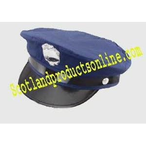 New York American Police Officer Hat Cop Fancy Dress