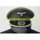 WWII WH Cavalry Officer's Visor Cap