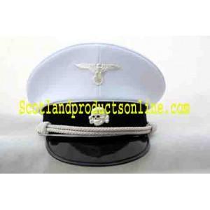 WWII SS Officer's Visor Cap