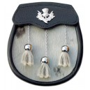 Sami Dress Sporran Thistle Badge with Tassels
