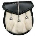 Sami Dress Sporran Harp Badge with Tassels