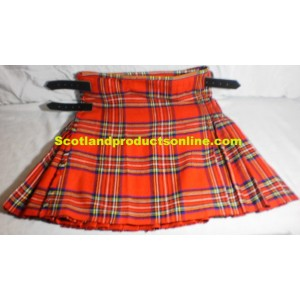 Scottish Piper or Drummer Royal Stewart Tartan Kilt