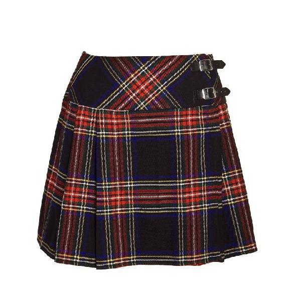 Юбка из шотландки для девочки своими руками