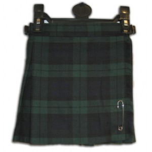 Scottish Black Watch Tartan Children Kilt