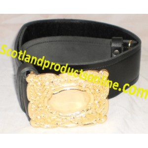 Piper and Drummer Waist Belt with Buckle