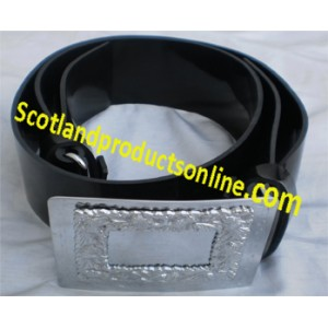 Piper and Drummer PVC Waist Belt with Buckle