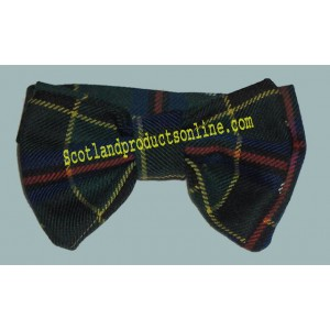 Cornish Hunting Tartan Bow Tie