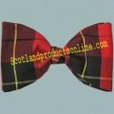 Old Wallace Tartan Bow Tie