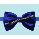 Classic Men's Royal Blue Velvet Bow Tie