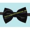 Classic Men's Black Velvet Bow Tie