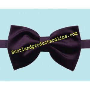 Classic Men's Purple Velvet Bow Tie