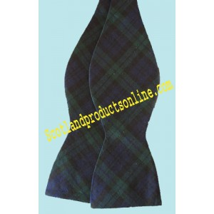 Black Watch Tartan Self-Tie Bow Tie