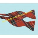 Royal Stewart Tartan Silk Self-Tie Bow tie