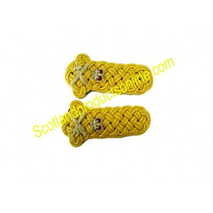 GENERAL'S GOLD TWIST SHOULDER CORDS
