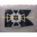 German Army Swallowtail Standarten- Black Pioneer