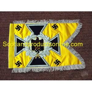 German Army Swallowtail Standarten- Yellow Cavalry