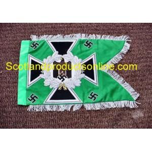 WW2 German Swallowtail Standarten- Green Jager