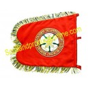 Bagpipe Banner With Custom Badge