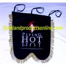 Hot Piping Pipe Banner With Embroidery