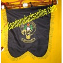 Clan Crest Bagpipe Banner