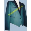 Green Simple Mess Jacket