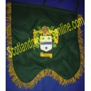 Bagpipe Banner ( Family Crest Badge )