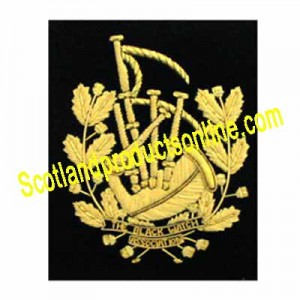 Special Pipe Major Pocket Badge